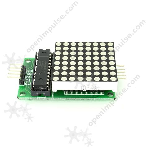 Led Dot Matrix max7219 led dot matrix module open impulseopen impulse