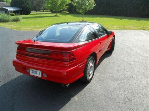 mitsubishi eclipse 1991 turbo buy used 1991 mitsubishi eclipse awd turbo fast and
