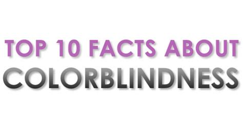 facts about color blindness color blindness facts resources for color deficiency