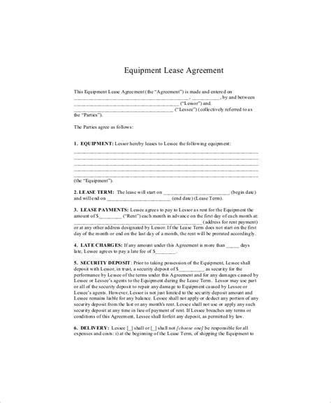 91 Aircraft Lease Agreement Template Aircraft Security Agreement 2012 2018 Form Equipment Aircraft Lease Agreement Template