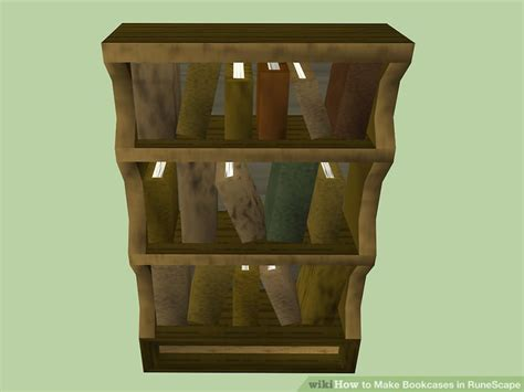 how to make bookcases in runescape 6 steps with pictures
