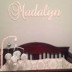 Baby Name Nursery Decor Nursery Names On Wall Thenurseries
