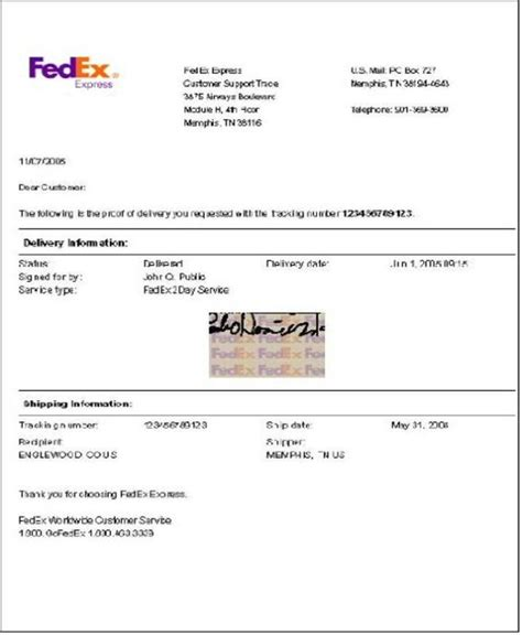 Business Letter Format Via Fedex Sle Letter Via Fedex Sle Business Letter