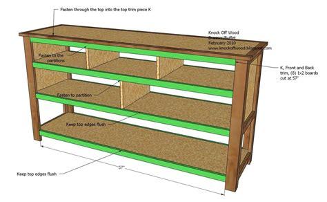 Open Shelf Dresser by Dresser With Open Shelves Woodworking Plans Woodshop Plans