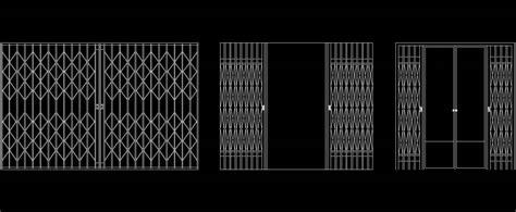 MS Channel Gate Cad Block Plan n Design
