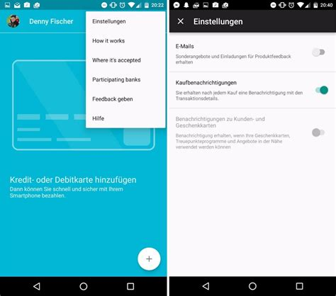 android pay app android pay im anmarsch app teilweise auf