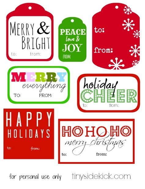 free gifts for free printable gift tags