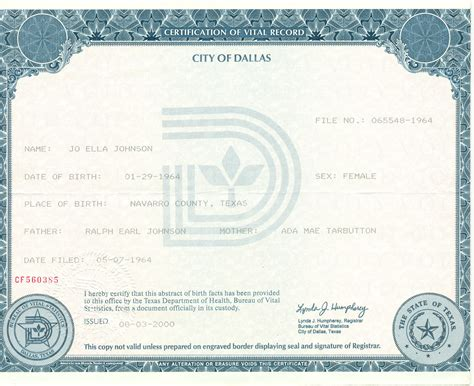 Ohio Birth Record Birth Certificates That Are Collection Birth Certificates Photos Homes