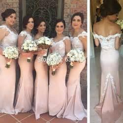 light pink bridesmaid dress aliexpress buy blush light pink bridesmaid dresses