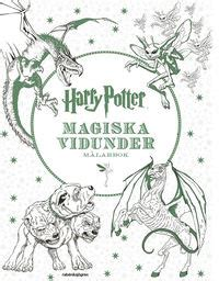 meijer harry potter coloring book harry potter magiska vidunder m 229 larbok j k rowling