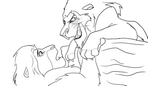 lion king coloring pages simba vs scar sha excelsior org