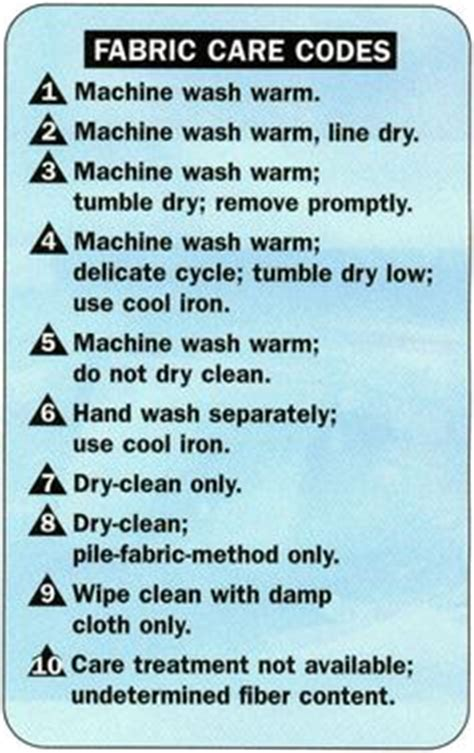 upholstery cleaning codes washing instruction symbols explained good ideas