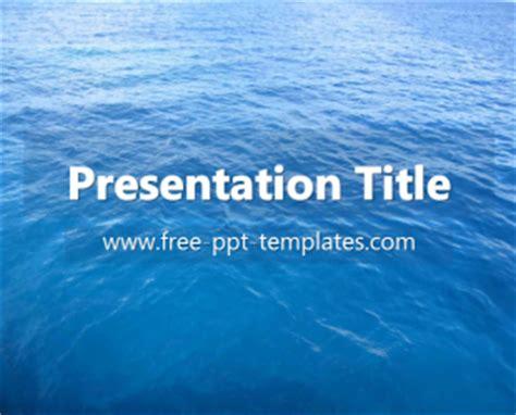 powerpoint templates free ocean ocean ppt template free powerpoint templates
