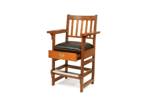 Marston Chair by Spencer Marston Deluxe Spectator Chair Billiards