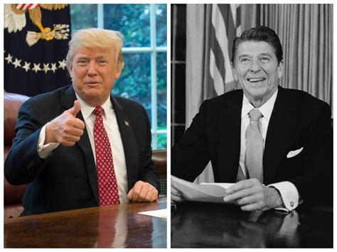 ronald reagan donald trump pinkerton the presidential comeback how reagan s first