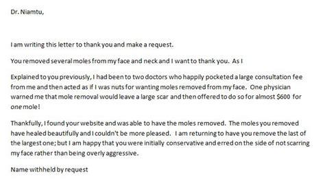 Thank You Letter Clinical Instructor Mole Removal Richmond Va Removal Of Mole Remove Mole