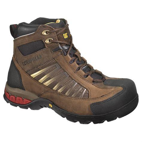 insulated steel toe boots s cat footwear kaufman hi waterproof insulated steel