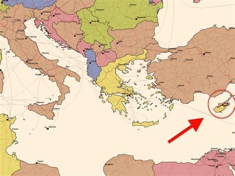 Cyprus On World Map by Where Cyprus Is On A Map Business Insider