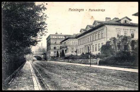 Ansichtskarte Postkarte Meiningen Partie An Der