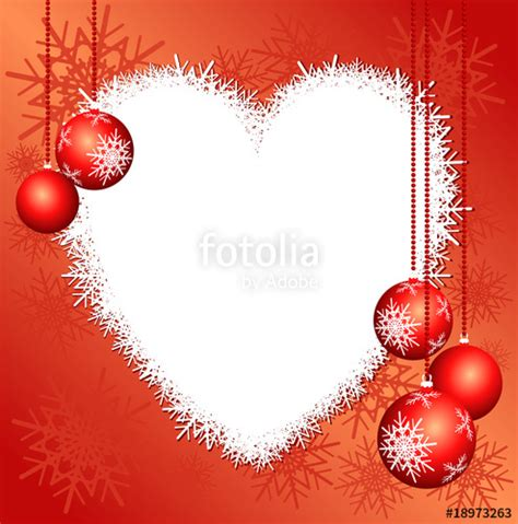 modificare foto con cornici quot sfondo natalizio con cuore quot immagini e vettoriali royalty