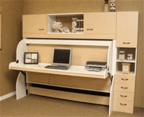 Bed And Desk In One the ultimate two in one furniture desk by day bed by