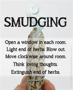 smudging american and feel on