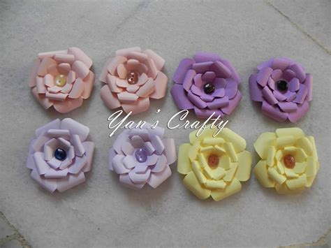Handmade Flowers With Paper - pin handmade flowers paper gardenias on