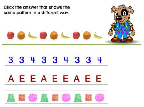 free pattern games online interactive pattern activity paul pattern