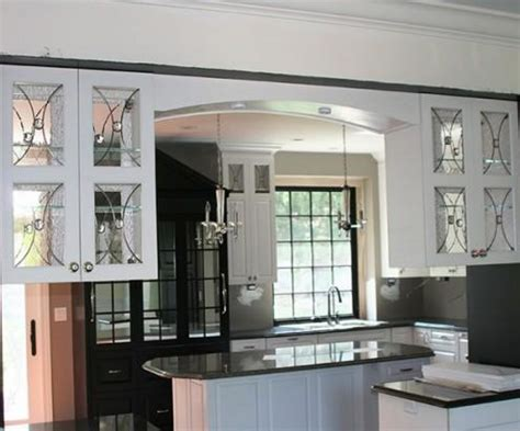 Glass Designs For Kitchen Cabinet Doors Kitchentoday Kitchen Cabinet Glass Door Design