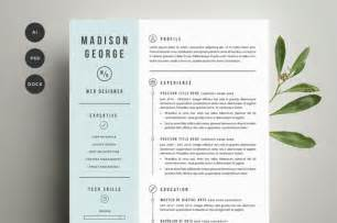 resume amp cover letter template resume templates on