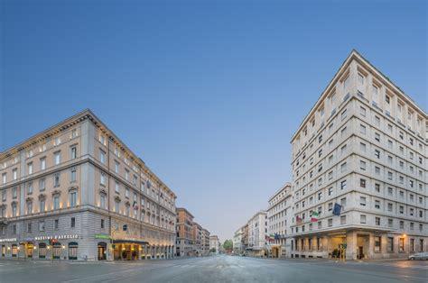 Hotel Meeting Rome Italy Europe bettoja hotel undergoes renovation combines