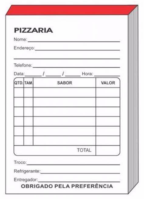 modelos de comanda para sorteio comanda para pizzarias em rio de janeiro servi 199 os maio