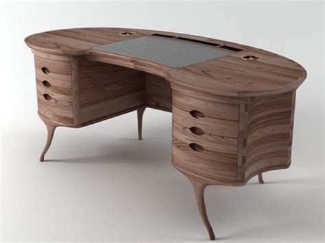 Bean Desk by Bean Desk 3d Model Ceccotti Collezioni