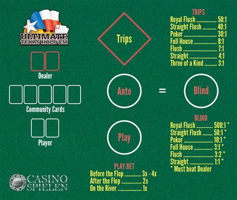 Ultimate Holdem Layout | ultimate texas hold em regeln und strategie
