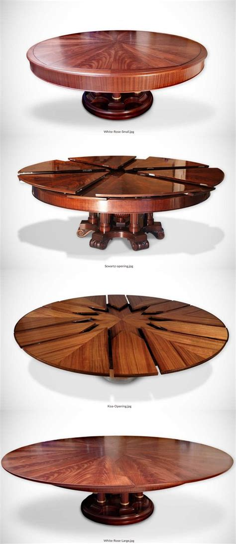 fletcher capstan table expands  simply spinning