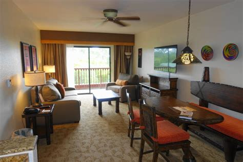 Jambo House 1 Bedroom Villa accommodations and theming at disney s animal kingdom