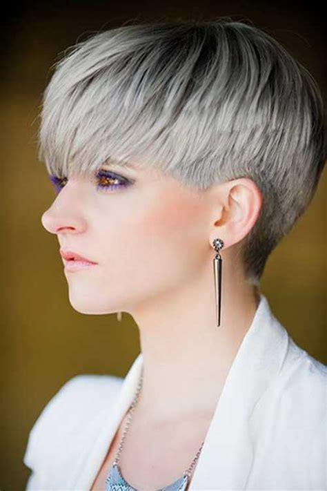 short styles for thick grey hair 8 pixie haircut for gray hairs pixie cuts pinterest