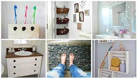 bathroom projects 9 diy bathroom ideas diy thought