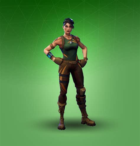 jungle scout fortnite outfit skin    info