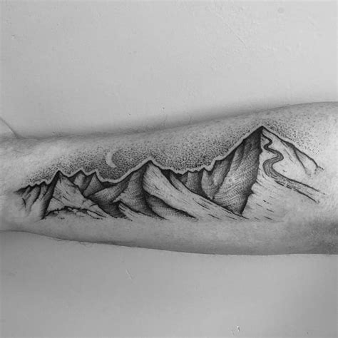 mountain range tattoo designs 46 magnificent mountain designs