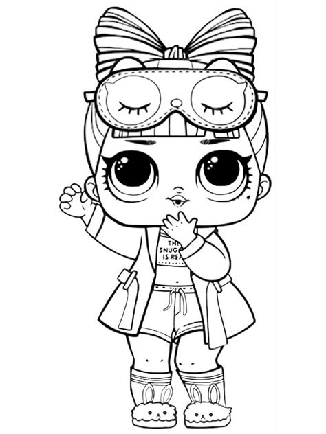 LOL dolls coloring pages. Free Printable LOL dolls