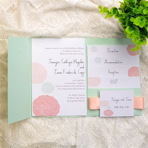 mint green and pink wedding invitations mint wedding ideas and wedding invitations