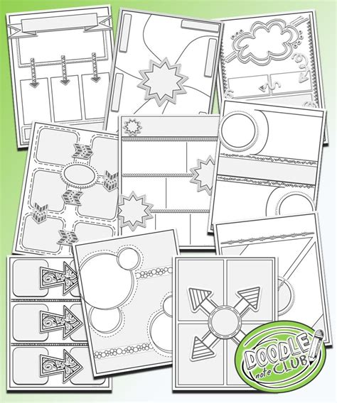 doodle for template templates to make your own doodle notes for your classroom