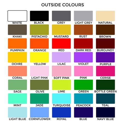 color shade plain bright coloured lshade 40 colours by quirk