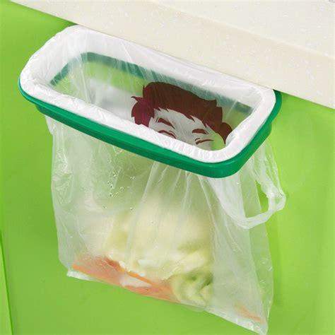 Rak Laci Plastik rak hanger kantong plastik tempat sah white green