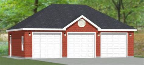 brick garage plans 22x24 2 car garage 528 sq ft pdf floor plan atlanta