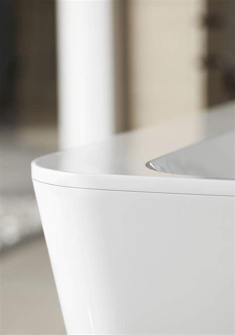 bathtub edging squaro edge 12 bathtub by villeroy boch