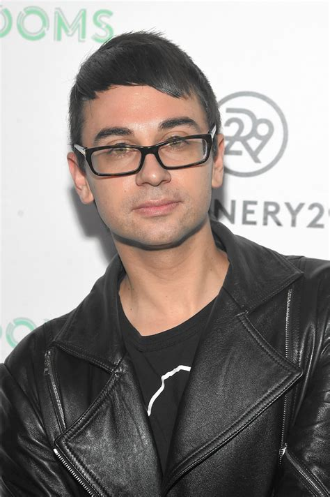 Christian Siriano To Keep Fashionable by After Emmys And A Packed Fashion Week Christian Siriano