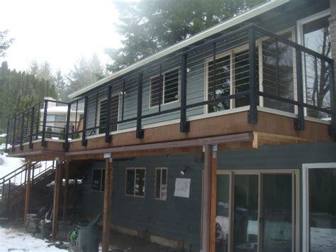 stainless steel deck railing porch railing stairs and