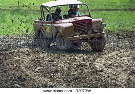 land rover series 3 off road land rover series 1 based off road trialer competing at